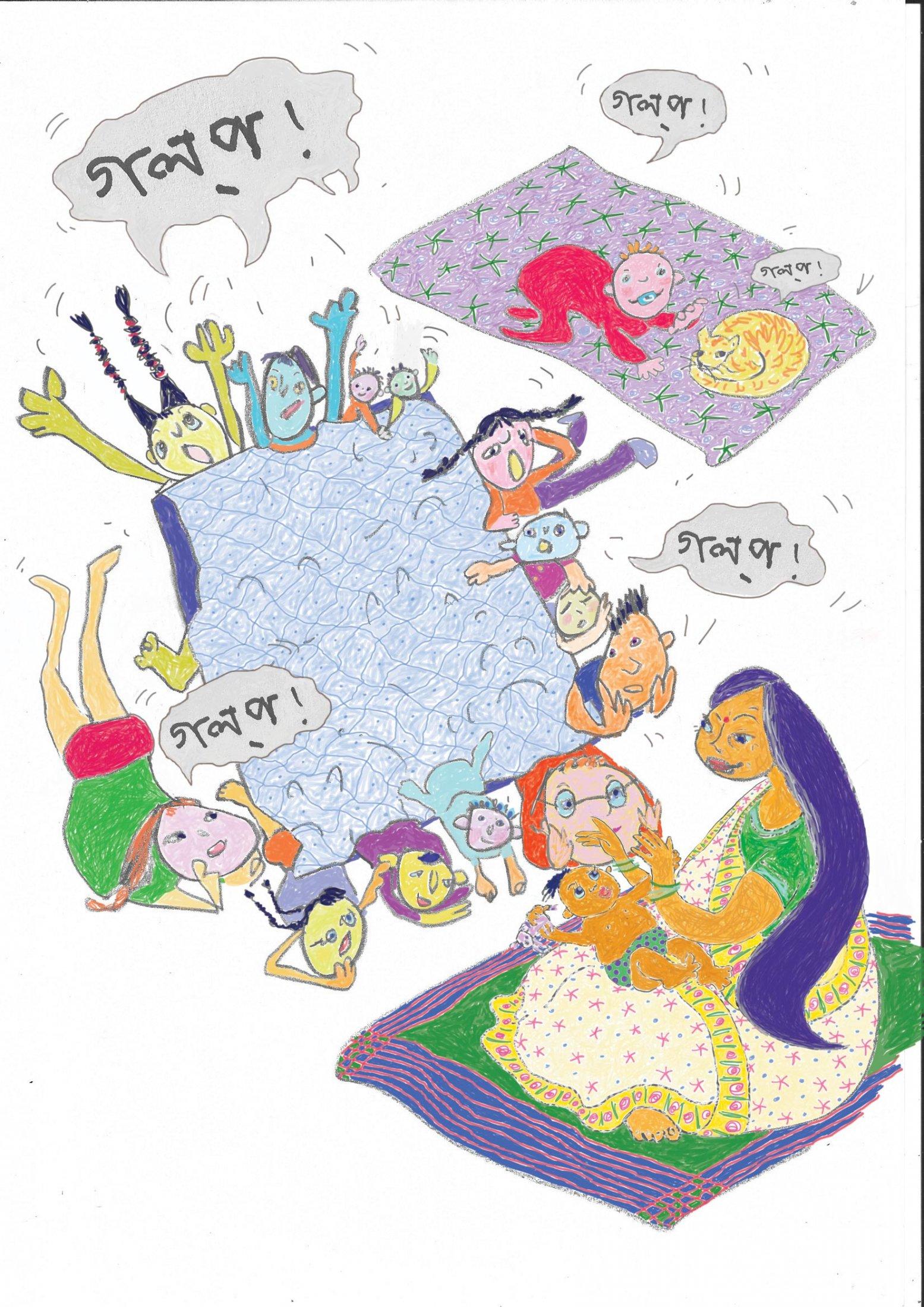Dadi-Moni-STORY-with-children