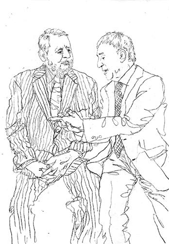 Terry Waite & John McCarthy