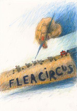Flea Circus Drawing